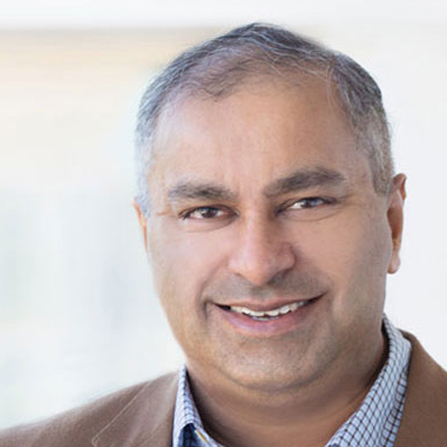 Photo of Neal Gupta on the Spiral Marketing podcast